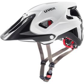 UVEX Quatro Integrale - Casque de vélo - blanc/noir